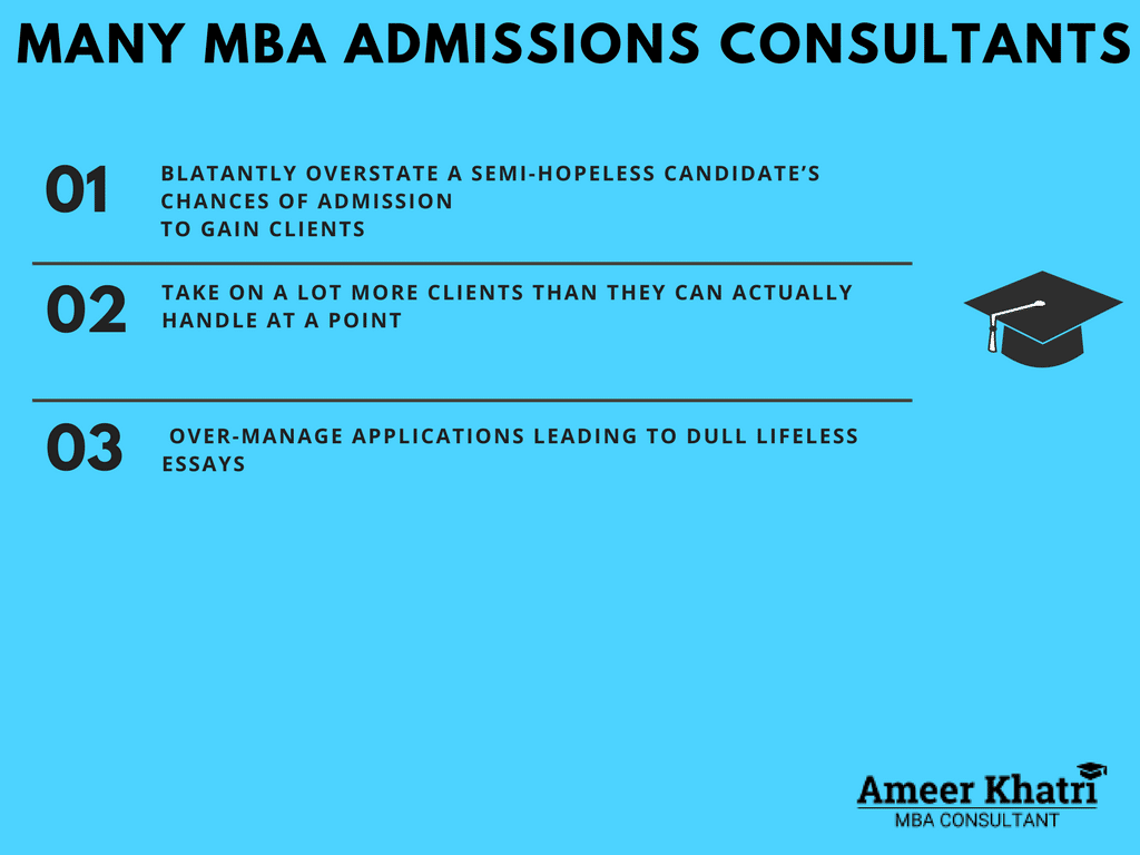 Problems choosing MBA Admissions Consultant