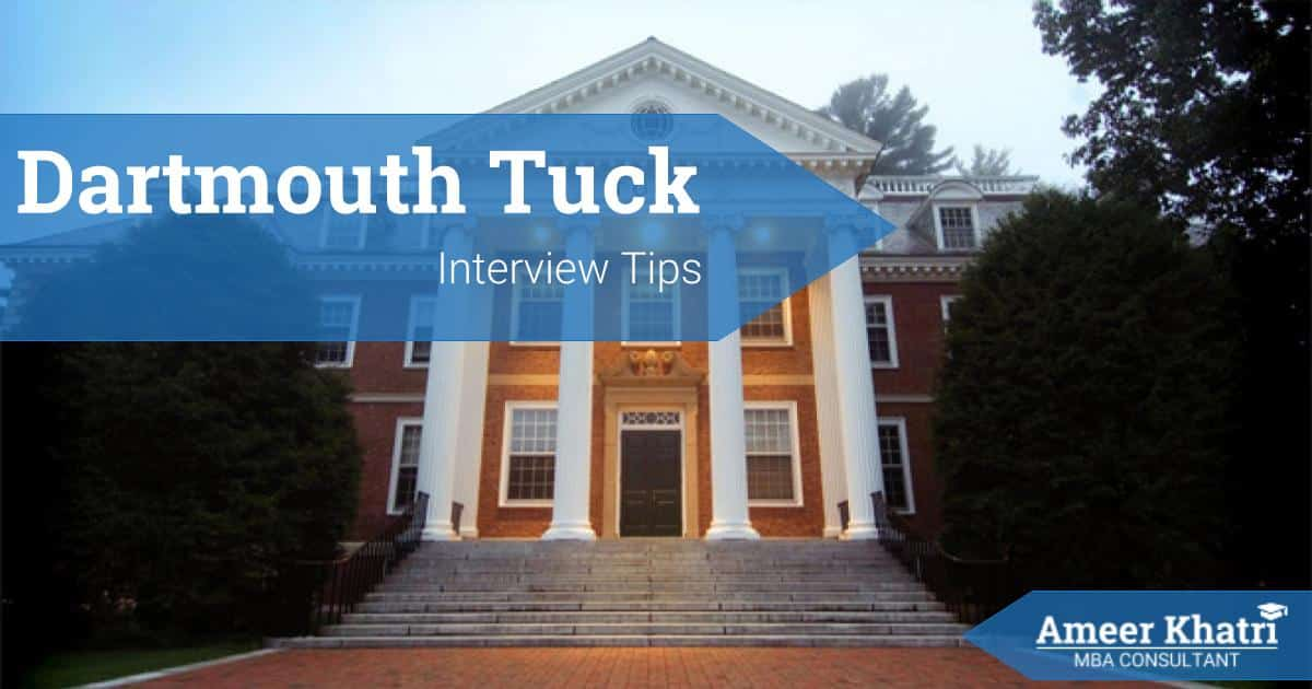 Tuck Interview