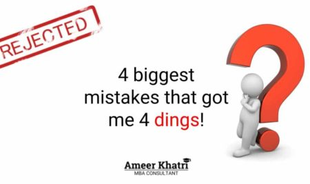 The 4 Biggest Mistakes that got me 4 Dings