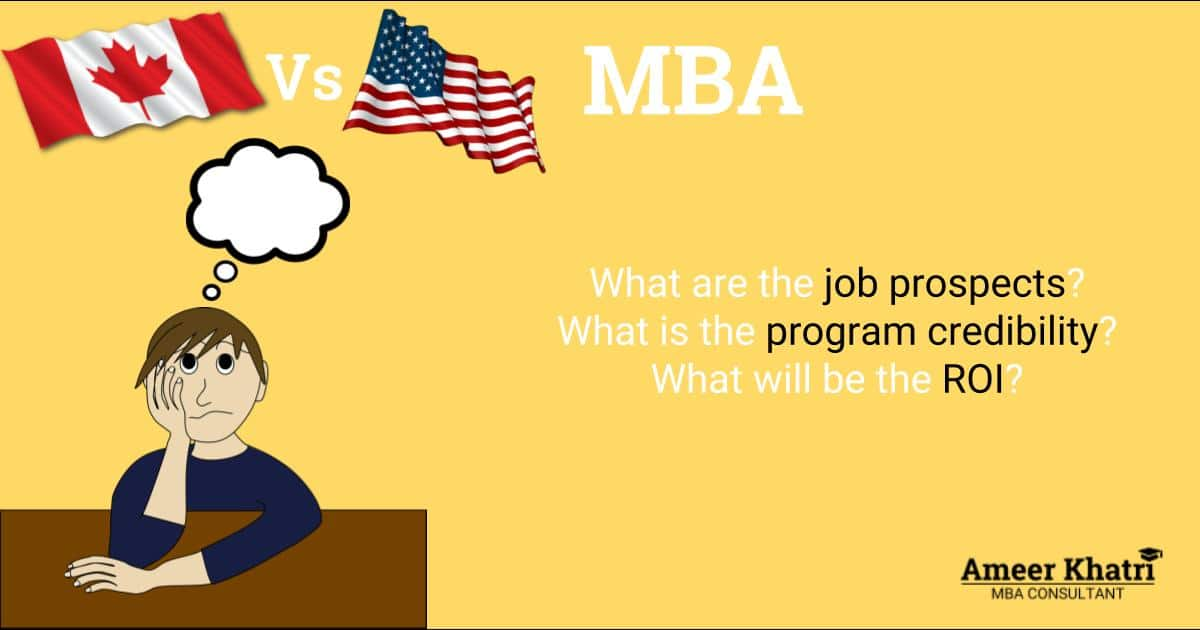 MBA from Canadian B-Schools vs US B-Schools