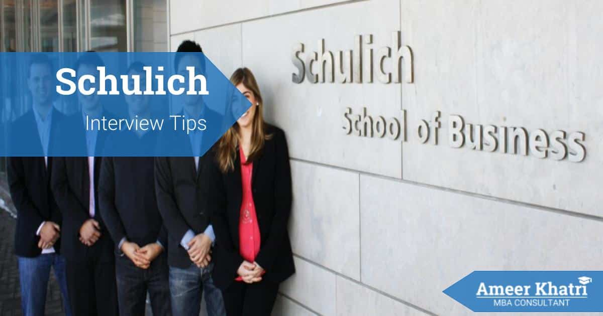 Schulich Interview