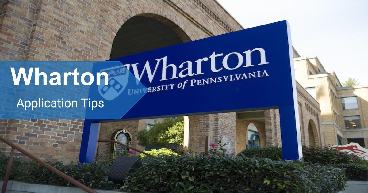 Copy of Wharton application