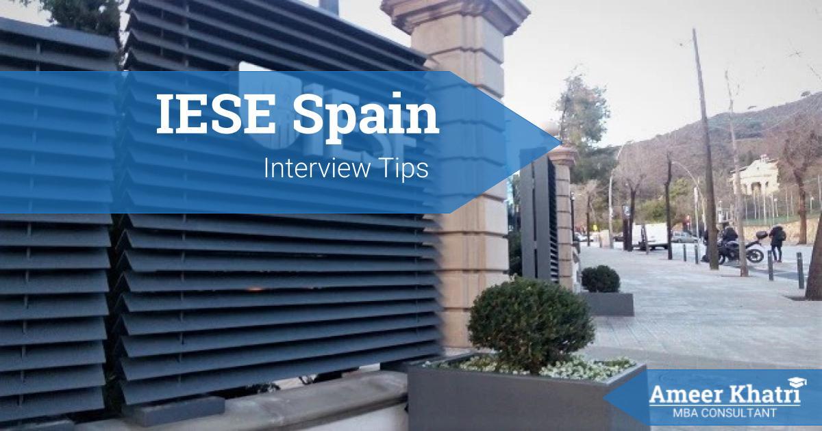 IESE Interview