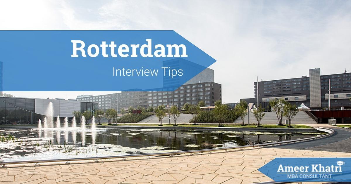 Rotterdam Interview