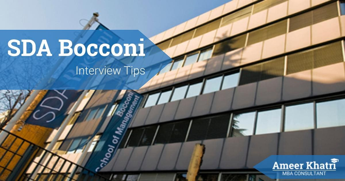 SDA Bocconi Interview