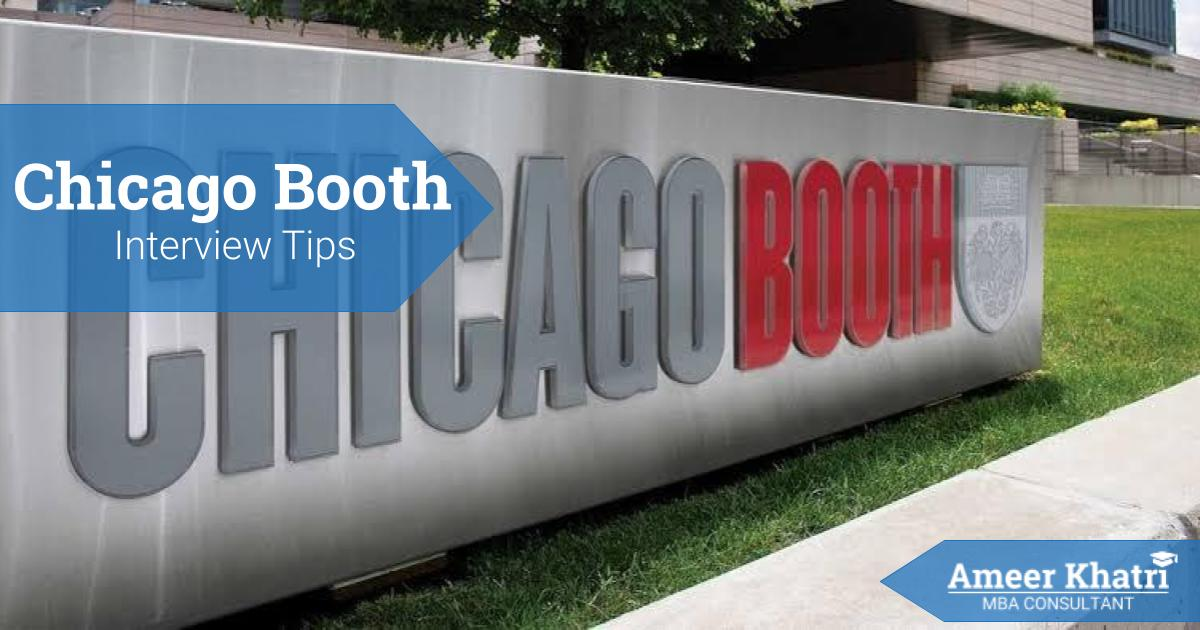 _chicago booth interview tips